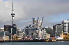 Ports of Auckland and Auckland city, uneasy neighbours learning to live together.