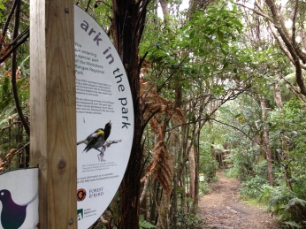 Ark in the Park - a joint conservation initiative between Forest & Bird and Auckland Council