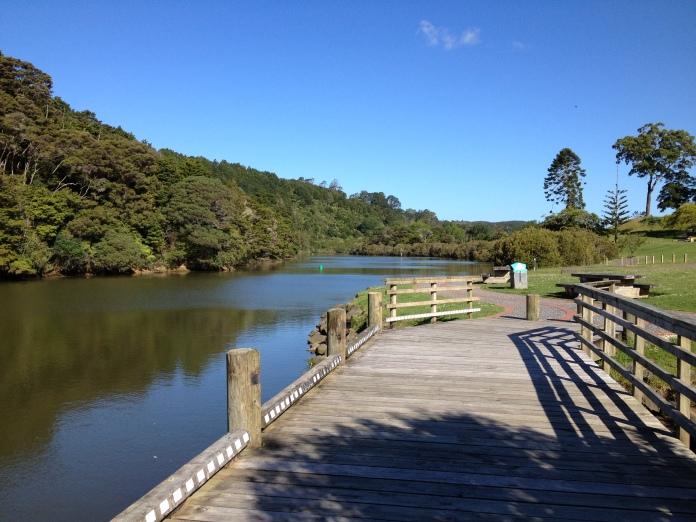 The peaceful Mahurangi River meanders through Warkworth
