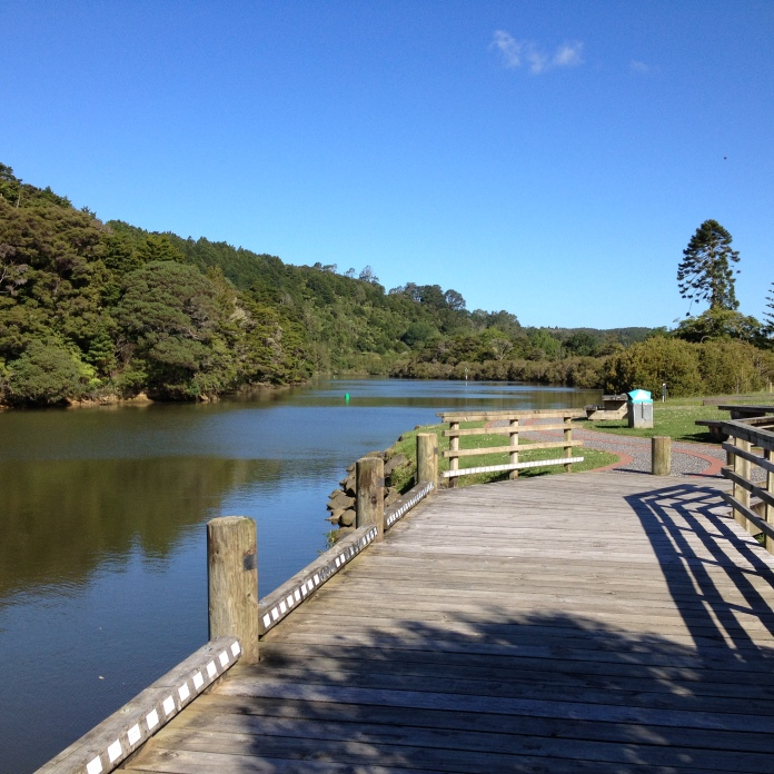 The peaceful Mahurangi River meanders through Warkworth