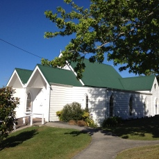 The Anglican Church is part of the Warkworth's Heritage walk