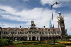 Dunedin's railway station