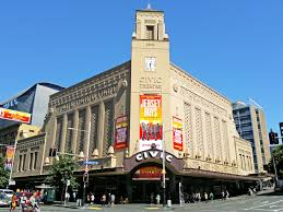 The Civic Theatre in Auckland. Home of musicals, concerts and the NZ International Film Festival.