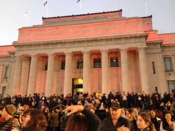 Auckland Museum. From 6.45am to closing time there is a free programme of films, tours, expert sessions and music to celebrate the ANZACs.