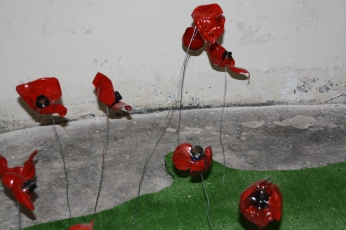 Recycled poppies