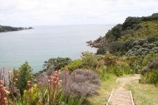 The coastal track to Sandy Bay