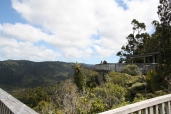 Views in every direction from the Arataki Visitor Centre