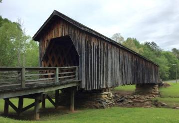 The Auchumpkee Creek Covered Bridge