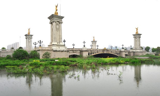 The Pont Alexandre III Bridge, Suzhou, China. Photograph: Michael Silk